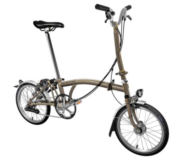 Brompton H6LD - Raw Lacquer
