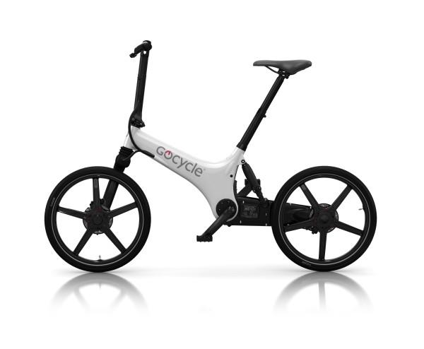 Gocycle GS - weiss - ungefaltet
