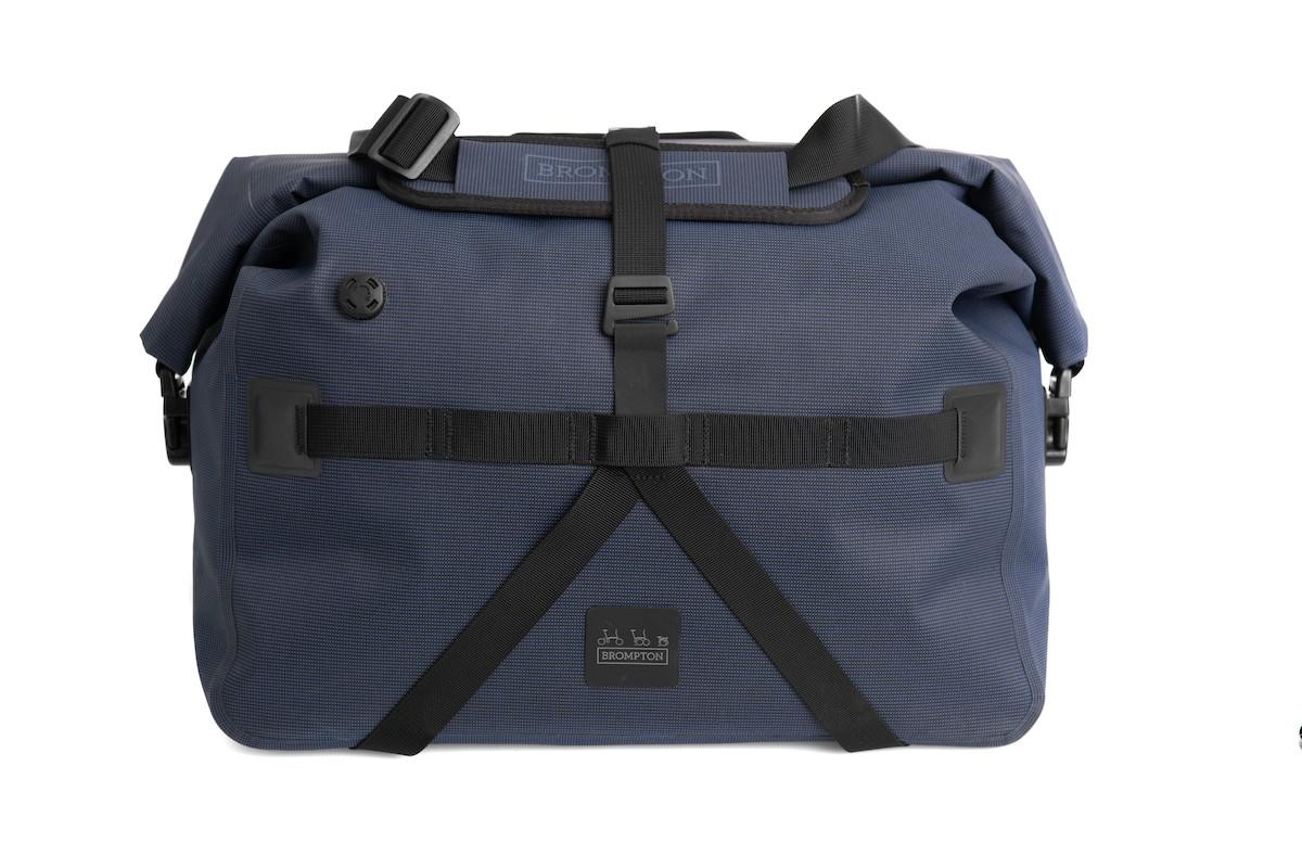 Brompton Borough Roll-Top Bag, Größe: L 28 L - Ersatz für T-Bag navy, wasserdicht