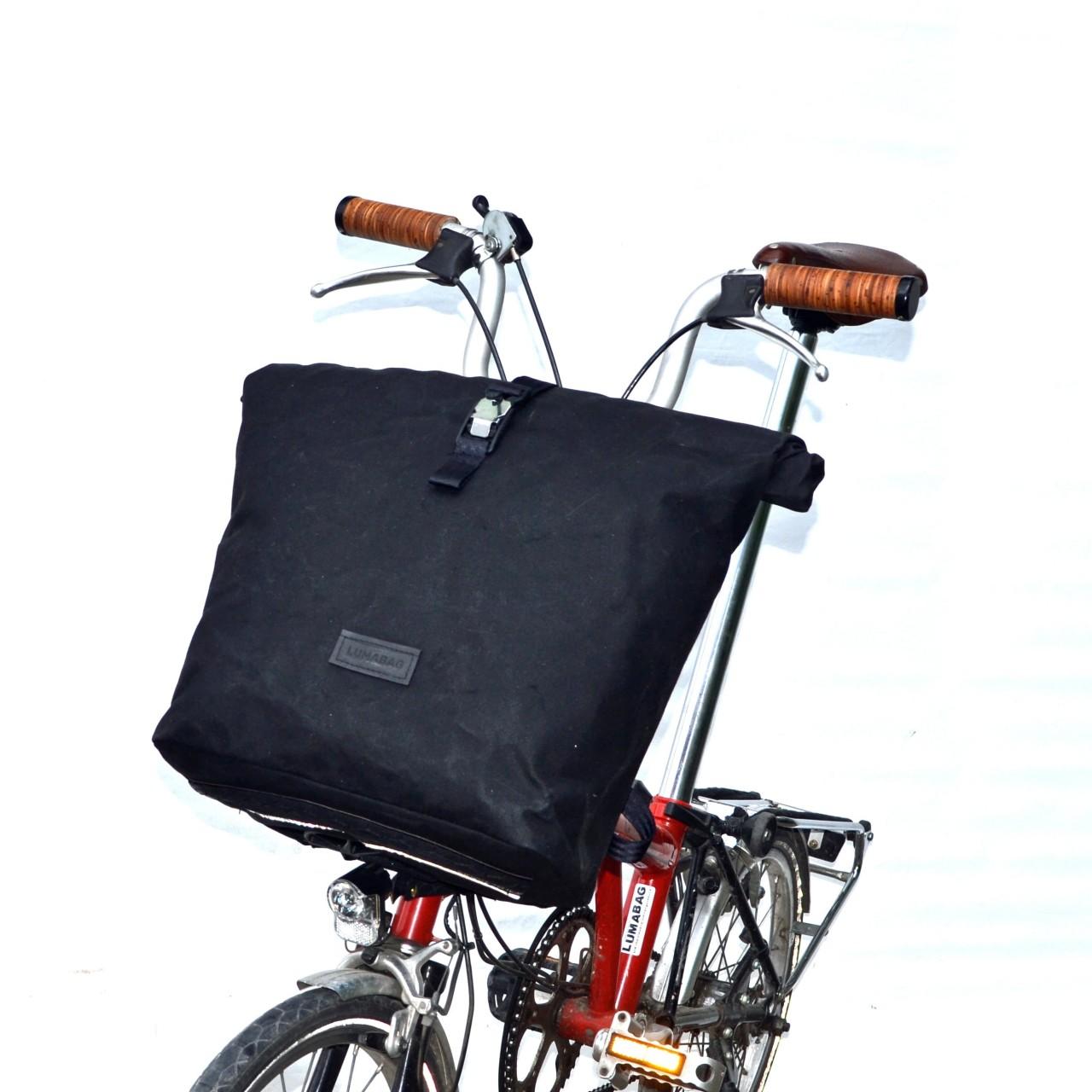 Lumabag Brompton Rucksack THE URBAN TRAVELLER mit Gepäckrahmen