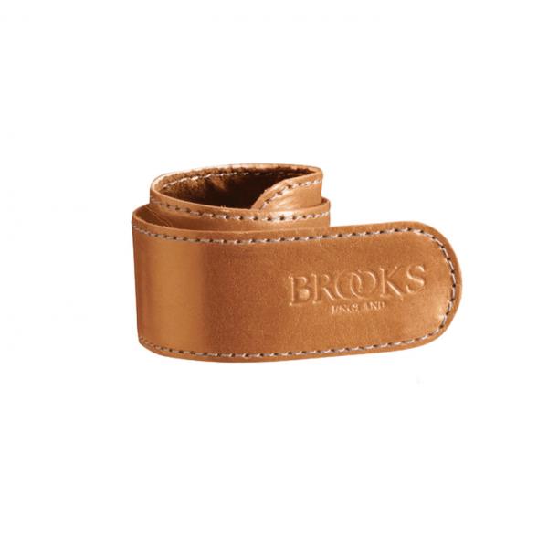 Brooks Trousers Strap, Hosenclip, honig