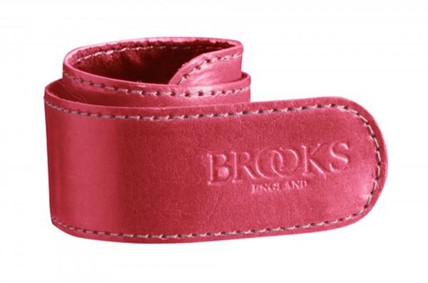 Brooks Trousers Strap, Hosenclip, rot