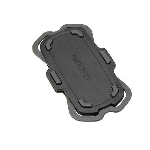 KlickFix PhonePad Quad Mini Adapter Smartphone Halter schwarz