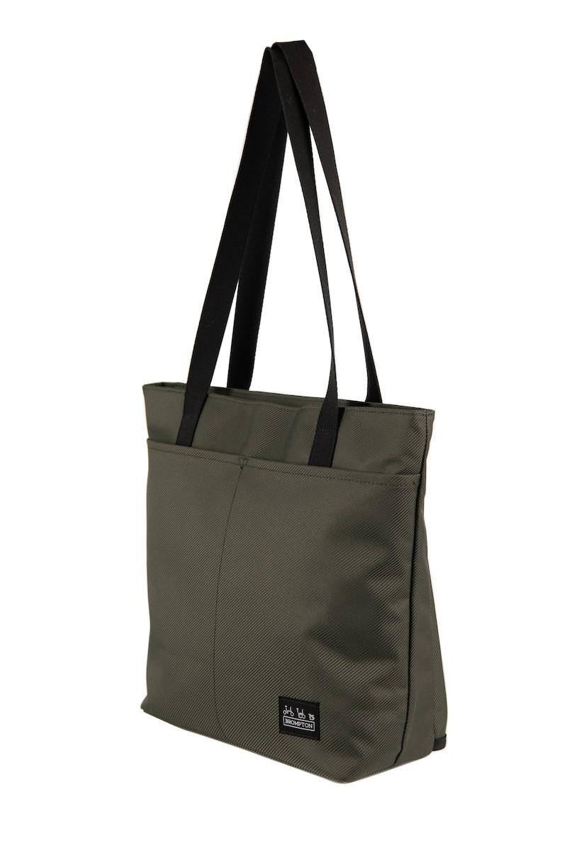 Brompton Borough Tote Bag, Größe: S 9 L - olive