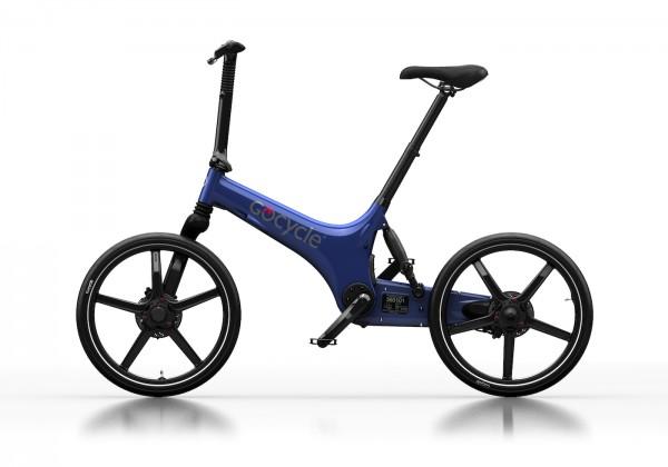 Gocycle G3 - blau - ungefaltet