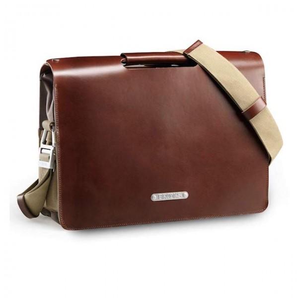 Brooks Brompton Moorgate Briefcase Leder Tasche