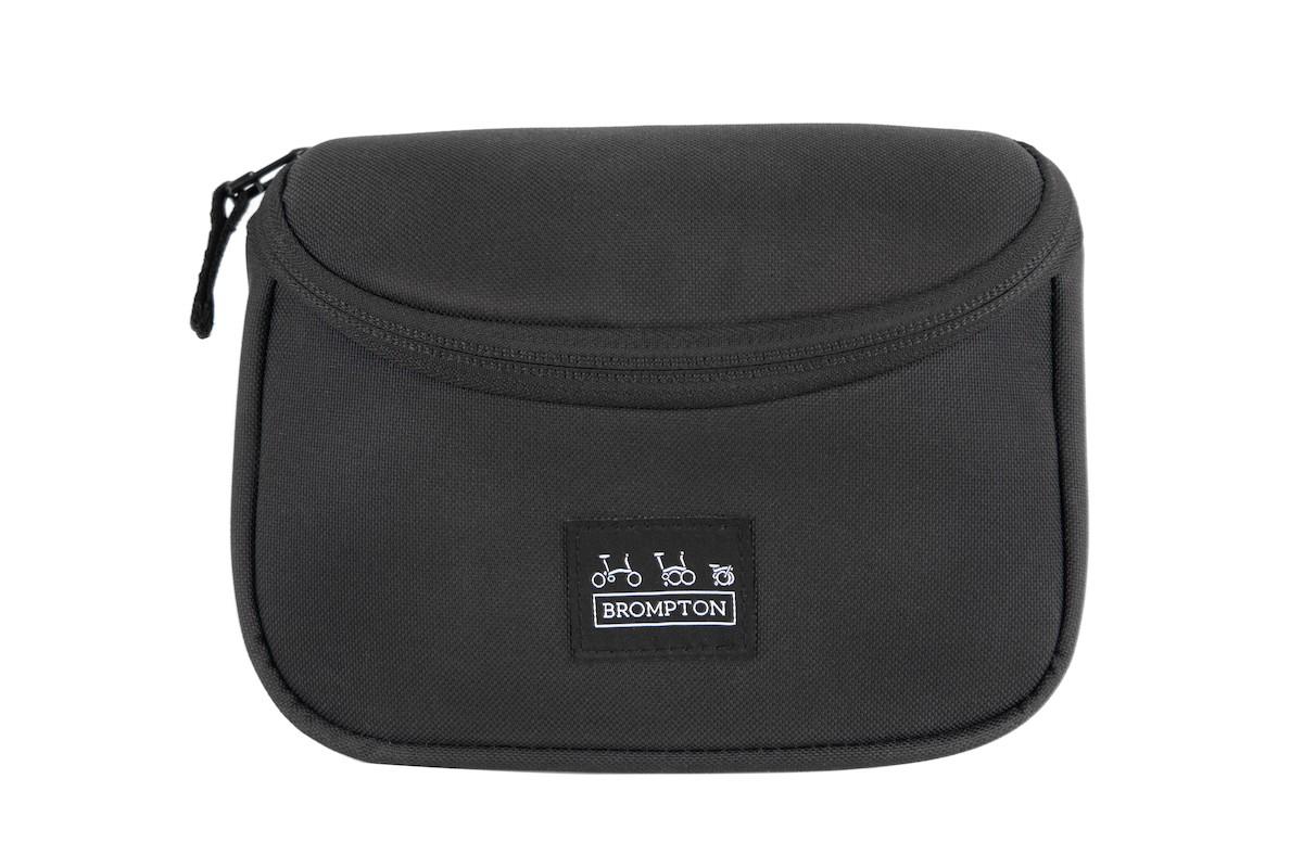 Brompton Metro Zip Bag Lenker Tasche, Größe: 1 L - schwarz