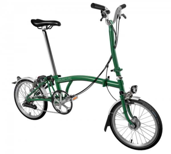 Brompton H6LD - Racing Green